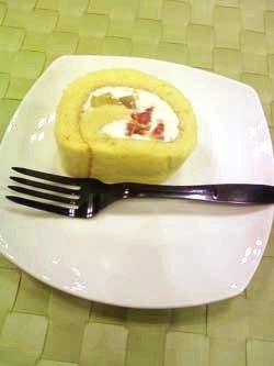 patisserie potagerと木村秋則さんのロールケーキ