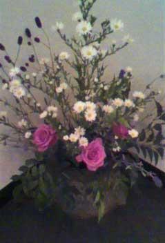 お花をアレンジしました。 by Stone Spa GAIA