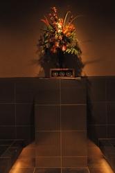 日本発!柏のオーガニック女性専用岩盤浴ストーン スパ ガイアの岩盤浴室正面