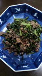 ピリ辛炒め大根葉と牛肉の.jpg