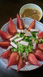 春キャベツとスモークチキンのサラダ.jpg