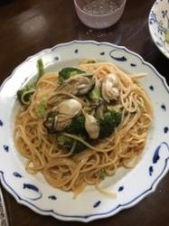 牡蠣のスパゲッティ.JPG