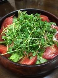 豆苗サラダ.JPG