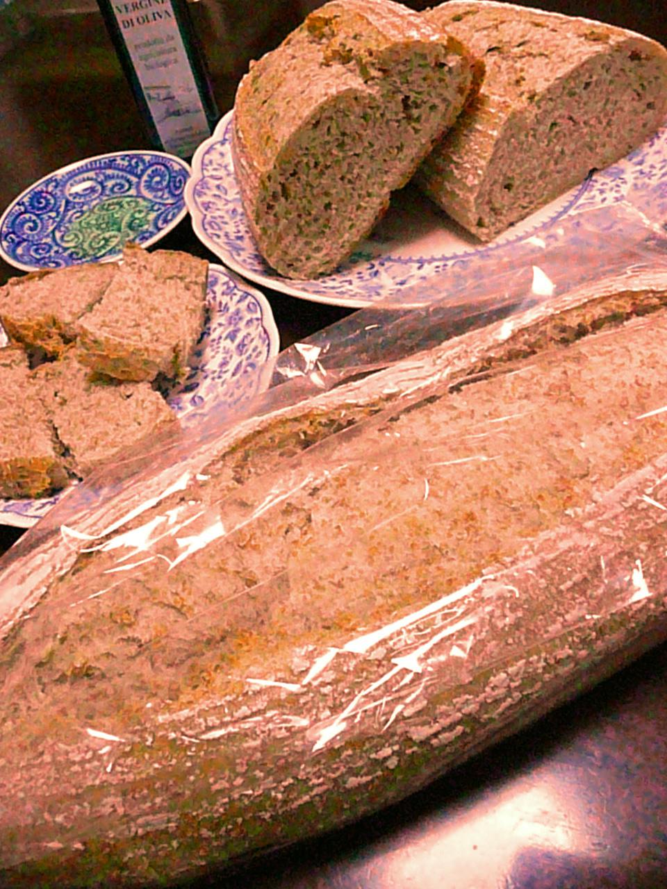 .ガイアで栽培した自然栽培小麦使用の田舎パン