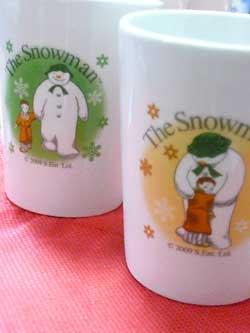 スノーマン わいわいフリーカップ オレンジ、グリーン