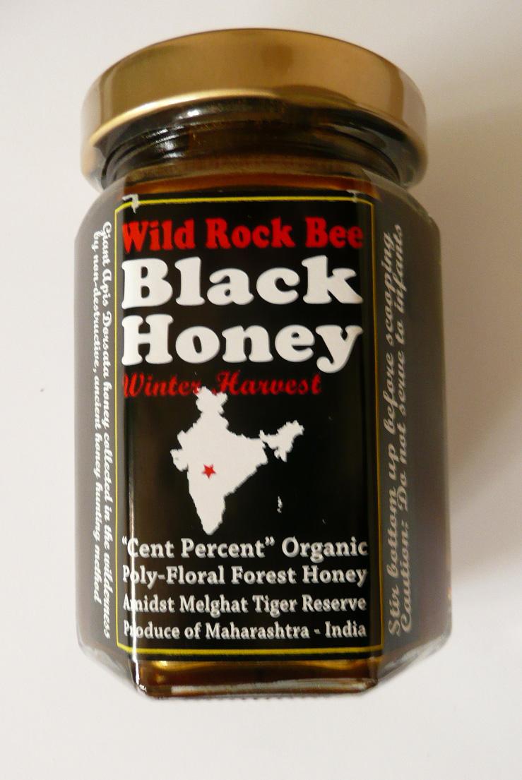 魅惑の野生黒蜂蜜 Wild Rock Bee BLACK HONEYをご紹介します。 柏のオーガニック女性専用岩盤浴ストーンスパ・ガイアです。