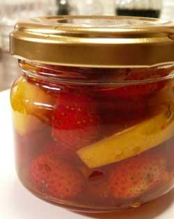 Stone Spa GAIAオリジナル自然栽培のイチゴを使ったイチゴ酢フレーバー