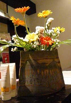 ガイアバースデーに頂いたお花