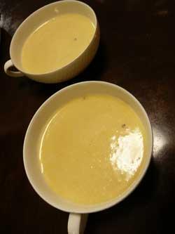 バターナッツの冷製ポタージュ by Stone Spa GAIA