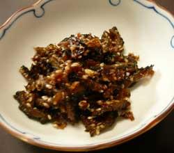 自然栽培のゴーヤーを使った佃煮です。 by Stone Spa GAIA