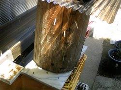 第三分封群が自然に入った待箱 柏のStone Spa GAIA