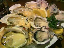oyster ber jack pot下北沢の牡蠣を食べに行きましたstone spa GAIAです。